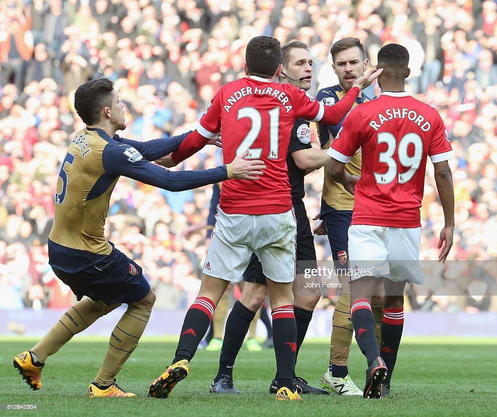 Manchester United v Arsenal - Premier League : News Photo