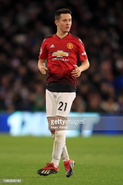 Ander Herrera of Manchester United during the Premier League match between Cardiff City and Manchester United at Cardiff City Stadium on December 22...