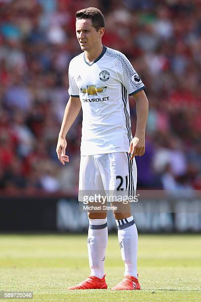 Ander Herrera of Manchester United during the Premier League match between AFC Bournemouth and Manchester United at the Vitality Stadium on August 14...