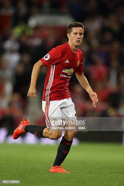 Ander Herrera of Manchester United during the Premier League match between Manchester United and Southampton at Old Trafford on August 19 2016 in...