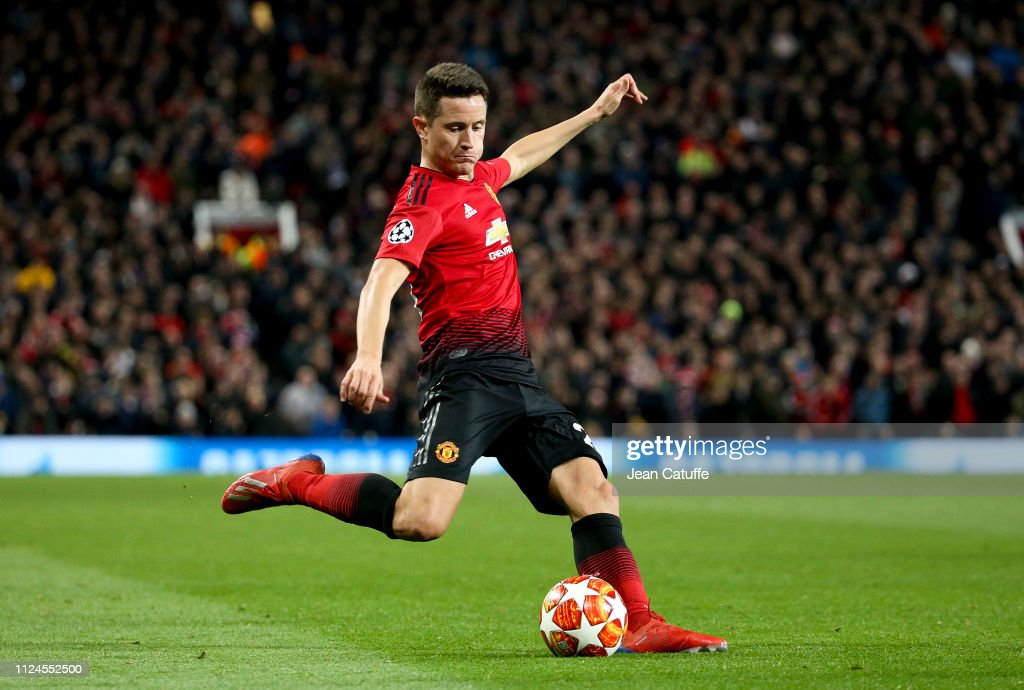 Manchester United v Paris Saint-Germain - UEFA Champions League Round of 16: First Leg : ニュース写真
