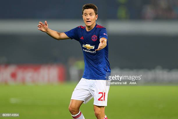 Ander Herrera of Manchester United during the UEFA Europa League match between Feyenoord and Manchester United at Feijenoord Stadion on September 15...