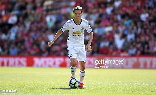 Ander Herrera of Manchester United in action during the Premier League match between AFC Bournemouth and Manchester United at Vitality Stadium on...