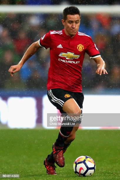 Ander Herrera of Manchester United in action during the Premier League match between Huddersfield Town and Manchester United at John Smith's Stadium...