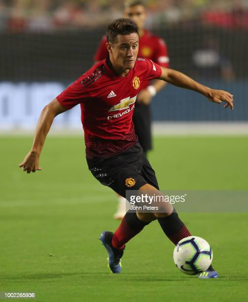 Ander Herrera of Manchester United in action during the preseason friendly match between Manchester United and Club America at University of Phoenix...