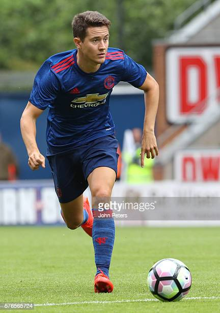 Ander Herrera of Manchester United in action during the preseason friendly match between Wigan Athletic and Manchester United at JJB Stadium on July...