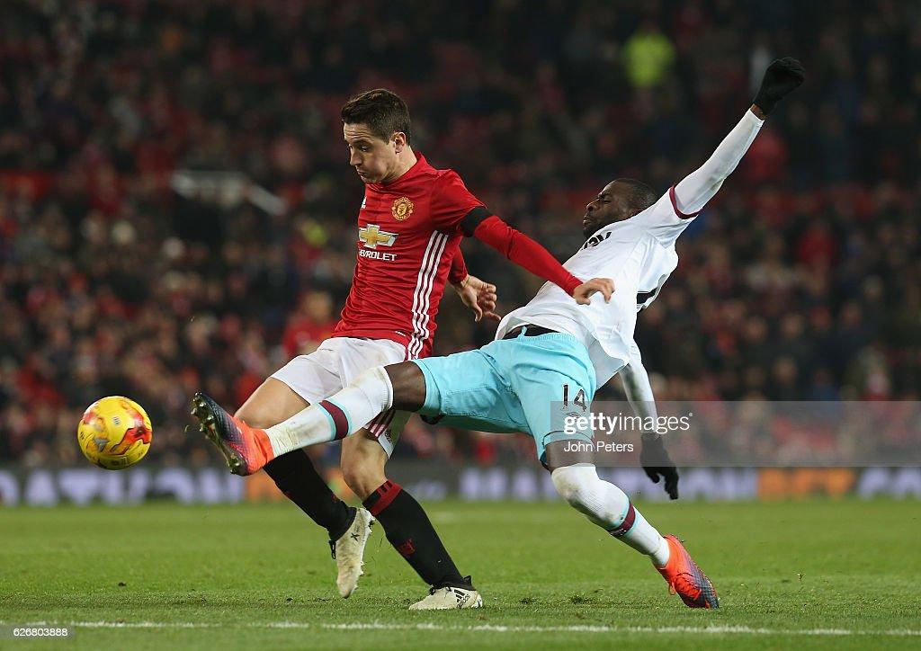 Manchester United v West Ham United - EFL Cup Quarter-Final : ニュース写真