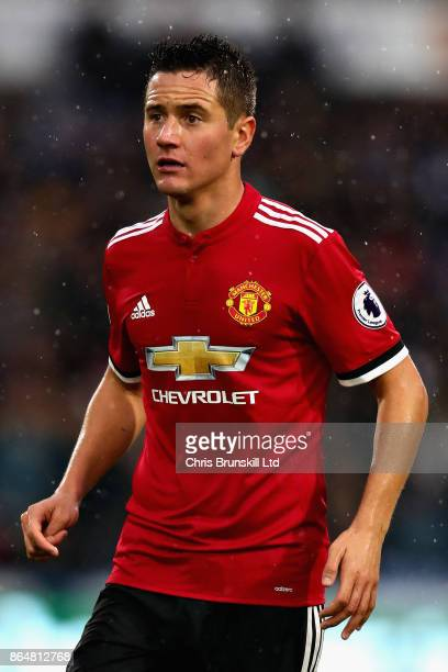 Ander Herrera of Manchester United looks on during the Premier League match between Huddersfield Town and Manchester United at John Smith's Stadium...