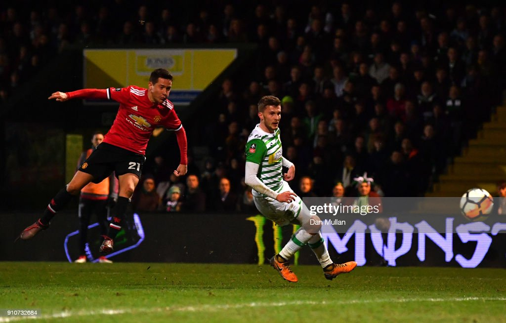 Yeovil Town v Manchester United - The Emirates FA Cup Fourth Round : News Photo