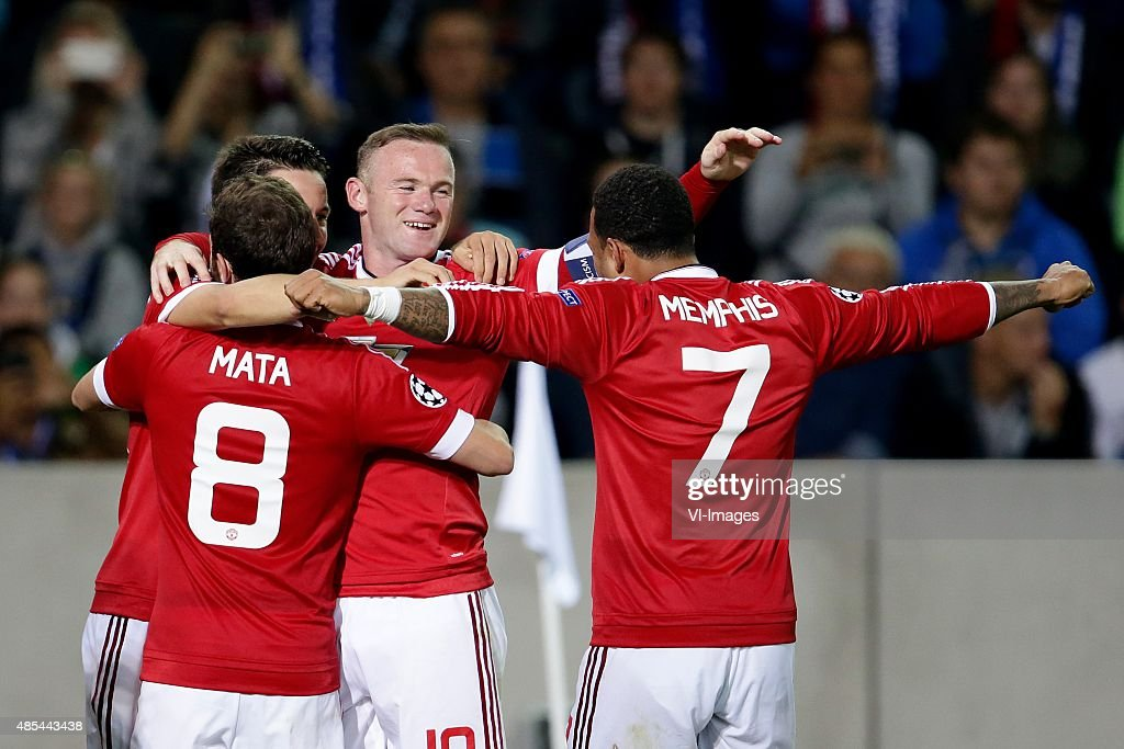 """Champions league play-offs - """"Club Brugge v Manchester United"""" : ニュース写真"""