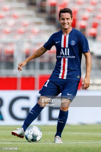 Ander Herrera of Paris Saint-Germain controls the ball during the pre-season friendly match between 1. FC Nuernberg and Paris Saint-Germain at...