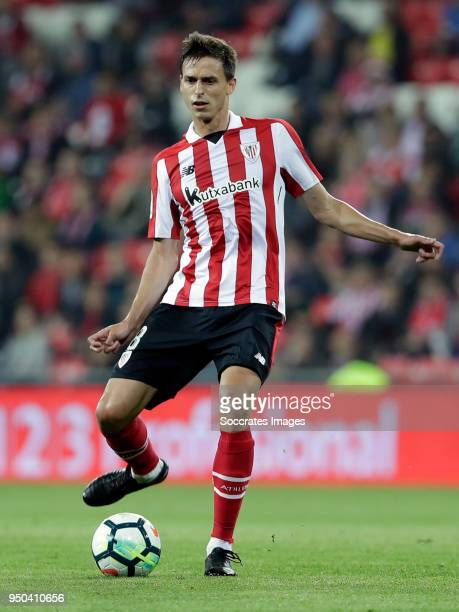 Ander Iturraspe of Athletic Bilbao during the La Liga Santander match between Athletic de Bilbao v Levante at the Estadio San Mames on April 23 2018...