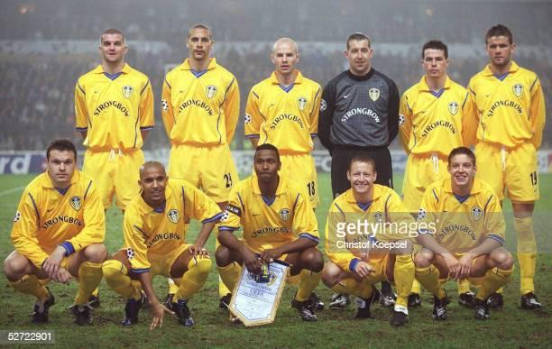 Anderlecht; RSC ANDERLECHT - LEEDS UNITED 1:4; TEAM/LEEDS: : Dominic MATTEO, Rio FERDINAND, Danny MILLS, Torwart Nigel MARTYN, Ian HARTE, Erik BAAKE;...