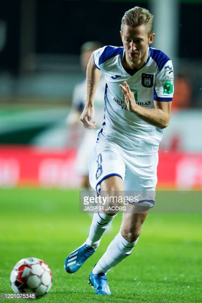 Anderlecht's Michel Vlap pictured in action during a soccer match between KV Mechelen and RSC Anderlecht, Saturday 15 February 2020 in Mechelen, on...