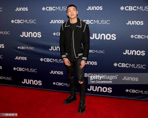 Anders attends the 2019 Juno Awards Arrivals at Budweiser Gardens on March 17 2019 in London Canada