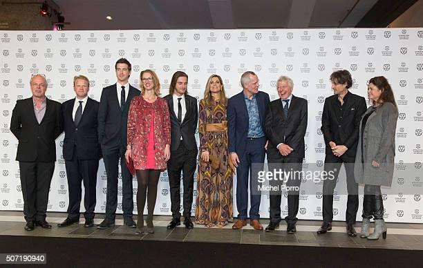 Anders Baasmo, Pal Sverre Hagen, Reinout Scholten van Aschat, Janneke Staarink, Queen Maxima of The Netherlands wearing an Etro jumpsuit, Bero Beyer,...