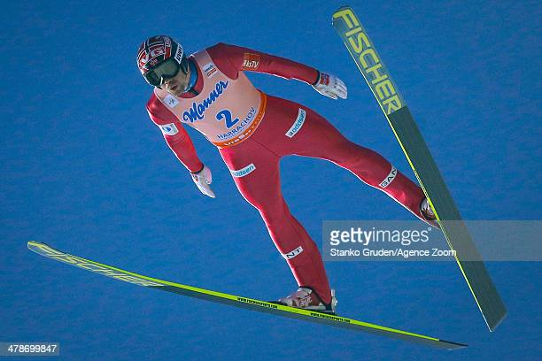 Anders Bardal of Norway competes during the FIS SkiFlying World Championships HS205 on March 14 2014 in Harrachov Czech Republic