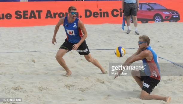 Anders Berntsen Mol of Norway and Christian Sandlie Sorum competing during final match between Piotr Kantor of Poland and Bartosz Losiak of Poland...