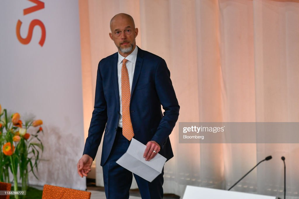 Anders Karlsson Acting Chief Executive Officer Of Swedbank