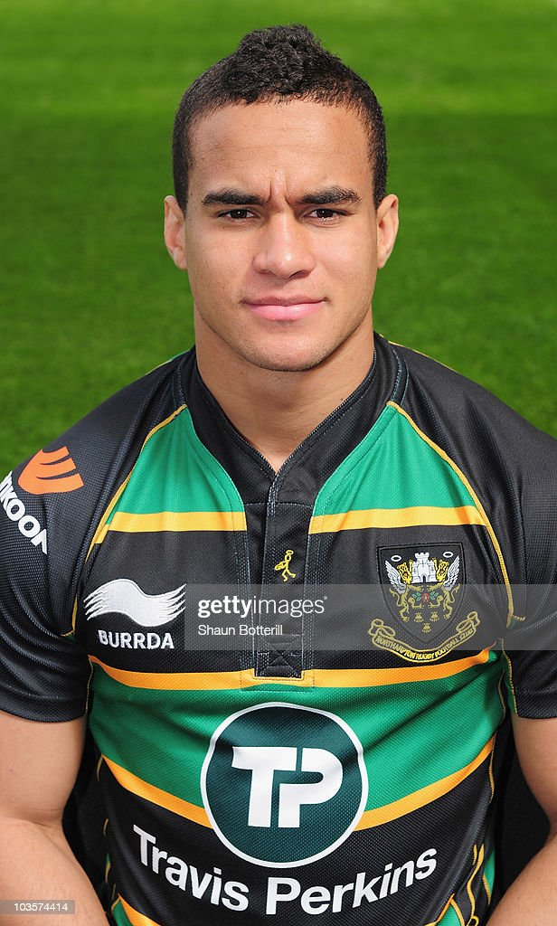 Anders Mogensen of Northampton Saints poses for a portrait at Franklins Gardens on August 24, 2010 in Northampton, England.