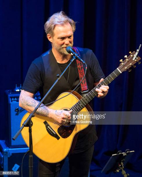 Anders Osborne performs during Can'd Aid Foundation's Send Me A Friend Benefit Concert at Le Petit Theatre on December 14 2017 in New Orleans...
