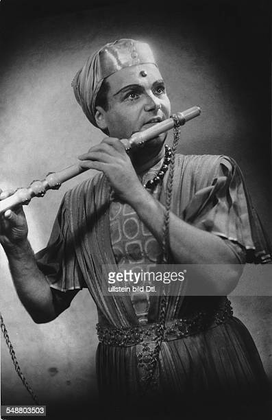 Anders Peter * Opera singer tenor Germany as 'Tamino' in the opera 'The Magic Flute' by Wolfgang Amadeus Mozart photographer Charlotte Willott...
