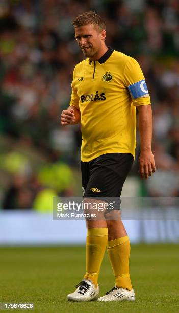 Anders Svensson of Elfsborg during the UEFA Champions League Third Qualifying Round First Leg match between Celtic and Elfsborg at Celtic Park...