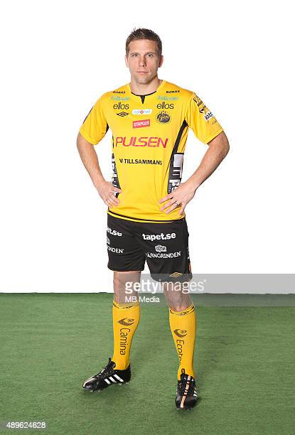 Anders Svensson of IF Elfsborg poses during a portrait session on March 11 2015 in BorasSweden