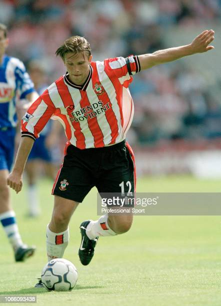 Anders Svensson of Southampton in action circa 2001