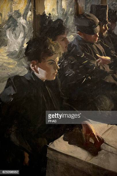 Anders Zorn Swedish painter Omnibus I 1895 or 1892 National Museum Stockholm Sweden