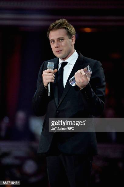 Anderson accepts an award during The Fashion Awards 2017 in partnership with Swarovski at Royal Albert Hall on December 4 2017 in London England