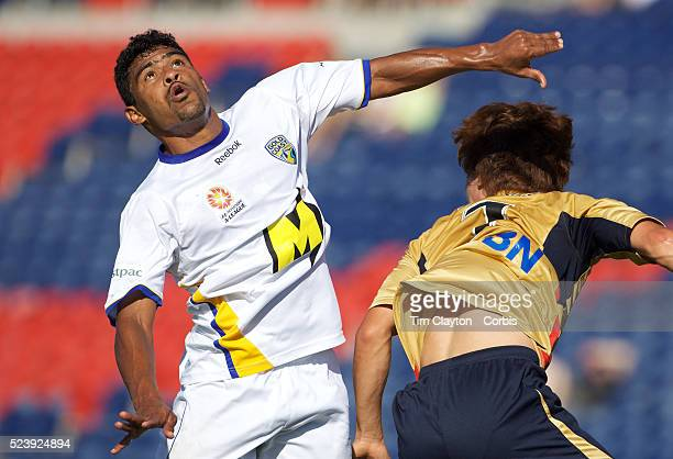 Anderson Alves Da Silva in action during the Newcastle Jets V Gold Coast United ALeague match at Energy Australia Stadium Newcastle Australia 13...