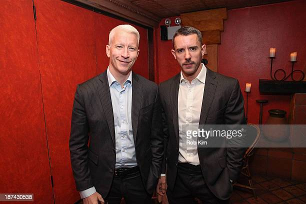 Anderson Cooper and Benjamin Maisani attend Kathy Griffin's Carnegie Hall Performance official after party hosted by Anderson Cooper at Trattoria...
