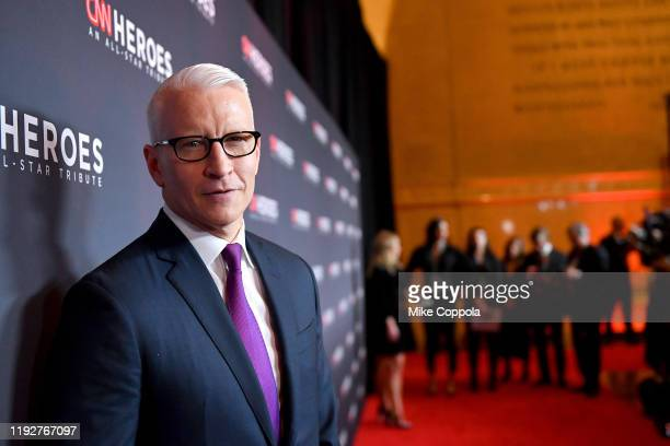 Anderson Cooper attends CNN Heroes at the American Museum of Natural History on December 08, 2019 in New York City.
