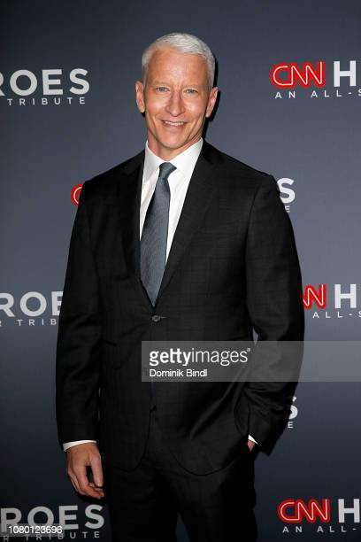 Anderson Cooper attends the 12th Annual CNN Heroes: An All-Star Tribute at American Museum of Natural History on December 09, 2018 in New York City.