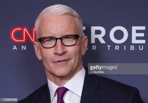 Anderson Cooper attends the 13th Annual CNN Heroes at the American Museum of Natural History on December 08, 2019 in New York City.