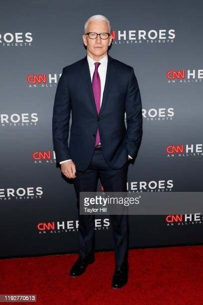 Anderson Cooper attends the 13th Annual CNN Heroes Gala at American Museum of Natural History on December 08, 2019 in New York City.