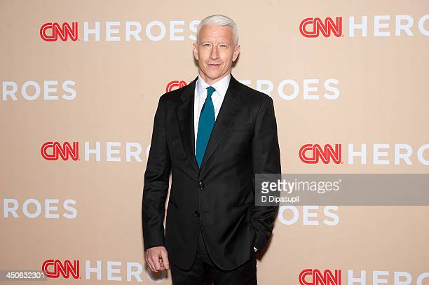 Anderson Cooper attends the 2013 CNN Heroes at American Museum of Natural History on November 19, 2013 in New York City.