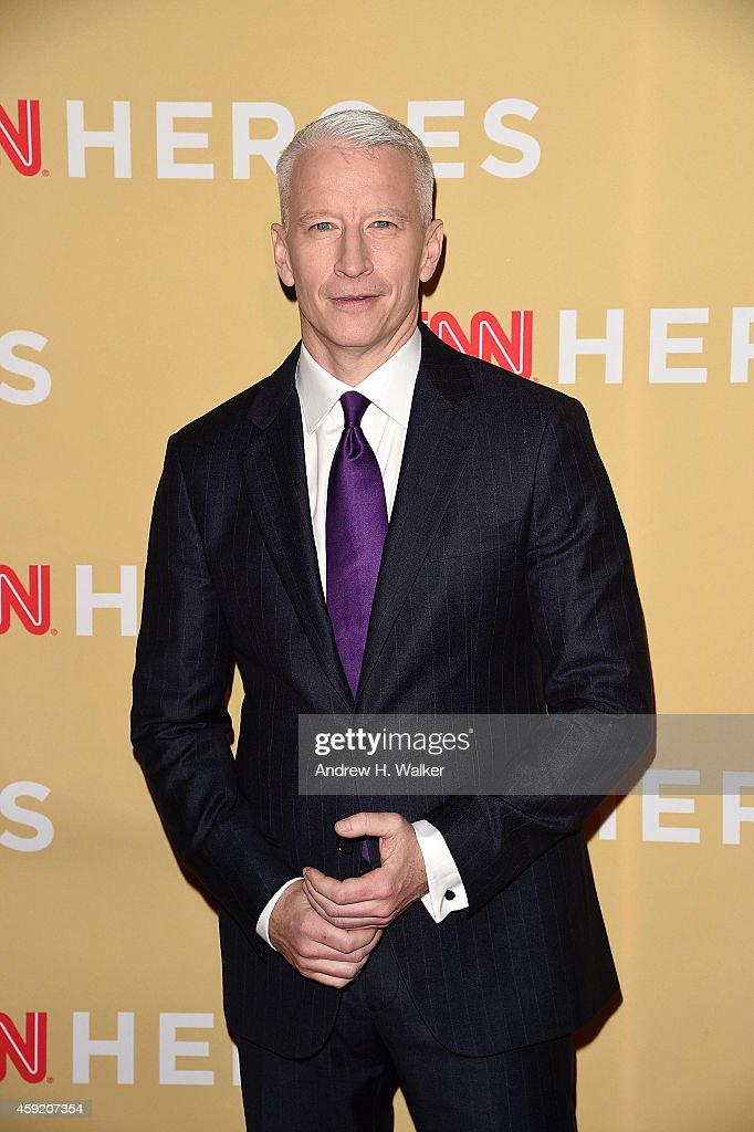 Anderson Cooper attends the 2014 CNN Heroes: An All-Star Tribute at the American Museum of Natural History on November 18, 2014 in New York City.