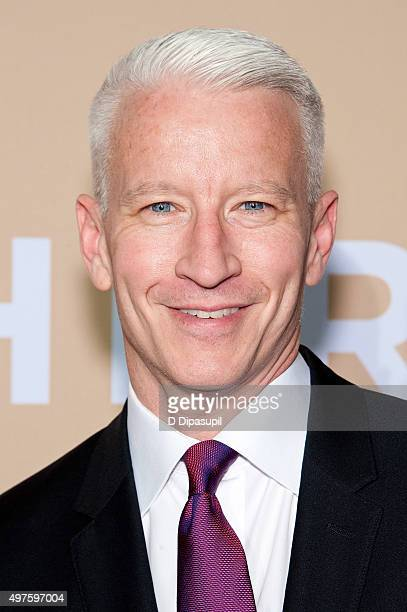 Anderson Cooper attends the 2015 CNN Heroes An AllStar Tribute at the American Museum of Natural History on November 17 2015 in New York City