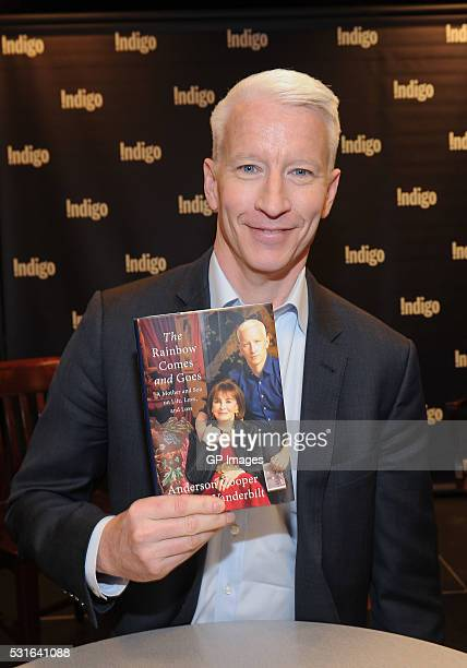 Anderson Cooper attends the book signing of his new book The Rainbow Comes And Goes at Indigo Manulife Centre on May 15 2016 in Toronto Canada