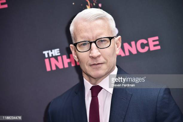 """Anderson Cooper attends """"The Inheritance"""" Opening Night at the Barrymore Theatre on November 17, 2019 in New York City."""