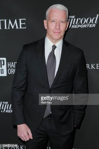 Anderson Cooper attends the Sean Penn J/P HRO gala benefiting J/P Haitian Relief Organization and a coalition of disaster relief organizations at...