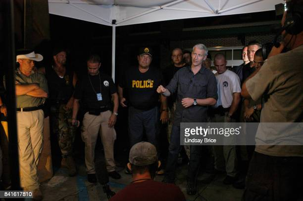 Anderson Cooper reports for CNN from the aftermath of Hurricane Katrina as he interviews members of the New Orleans Police Department who remained in...