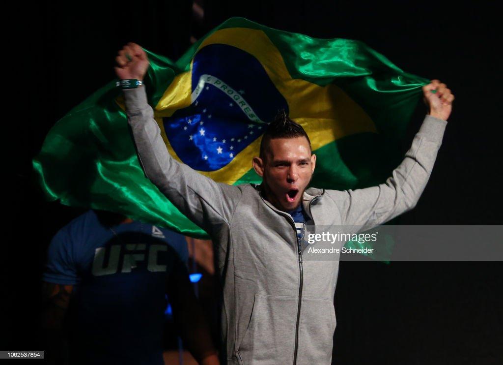 UFC Fight Night Magny v Ponzinibbio: Weigh-Ins : News Photo