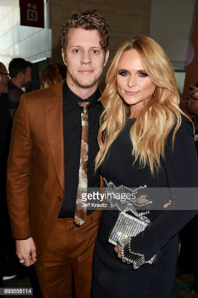Anderson East and Miranda Lambert attend the 2017 CMT Music Awards at the Music City Center on June 7 2017 in Nashville Tennessee