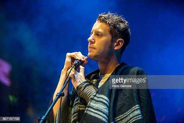 Anderson East performs as part of Roaming Roots Revue At Celtic Connections Festival at Glasgow Royal Concert Hall on January 23 2016 in Glasgow...