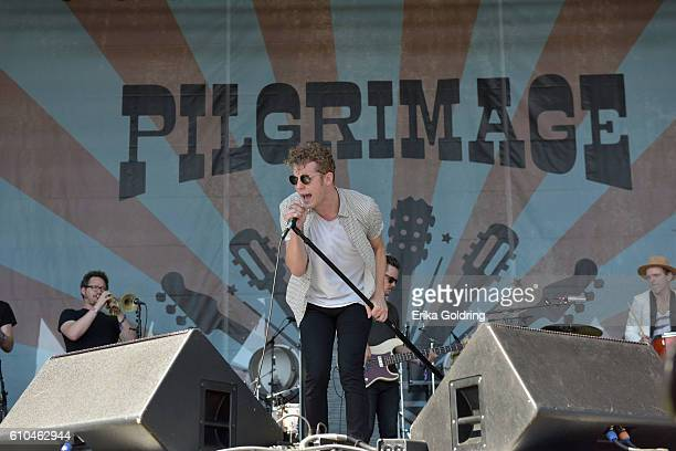 Anderson East performs onstage at the Pilgrimage Music Cultural Festival Day 2 on September 25 2016 in Franklin Tennessee