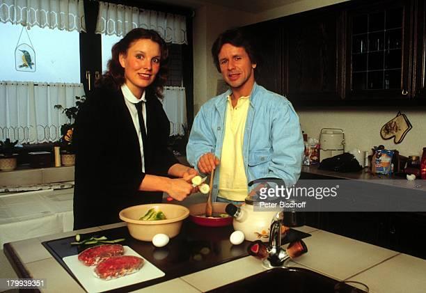 GG Anderson Ehefrau Monika GrabowskiKüche Paar Kochen