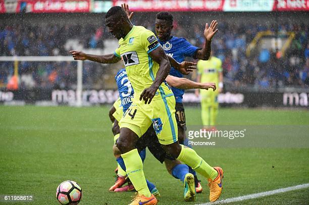 Anderson Esiti of KAA Gent pictured during Jupiler Pro League match between Club Brugge KV and KAA Gent on OCTOBER2 2016 in Brugge Belgium